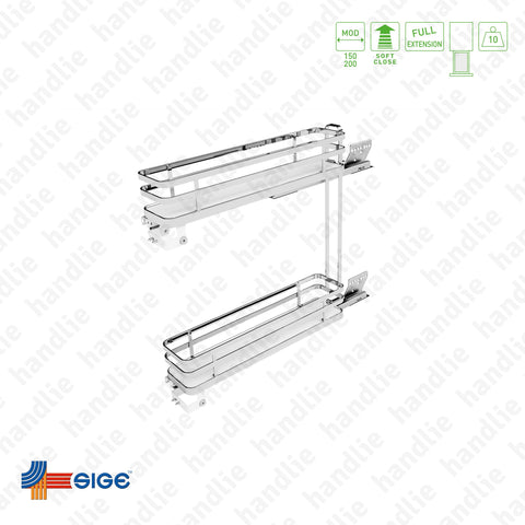 EC.002.IP - Multipurpose base pull-out for bottles / detergents for front door application