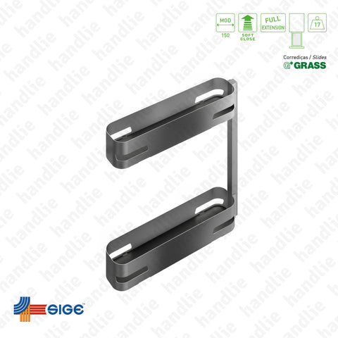 EC.002.M - Multipurpose base pull-out for front door application - GRASS