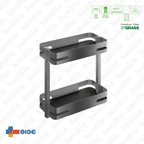 EC.004.M - Multipurpose base pull-out for front door application - GRASS