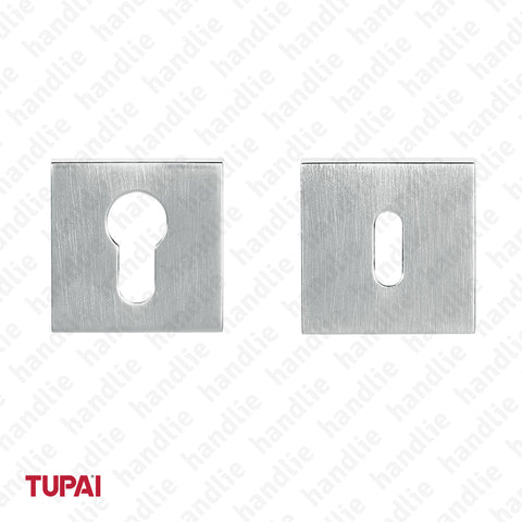 ENT.5051 - Square escutcheon kit 52x10mm