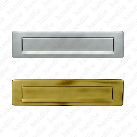 ENT.555 - Letter plate - Brass / Stainless Steel