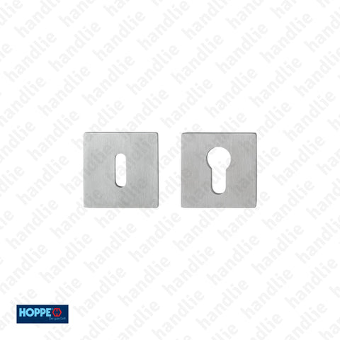 ENT.E848S.SK - Escutcheons - Thickness 2mm - Stainless Steel