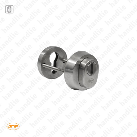 IN.04.40.S - Integral security escutcheon for euro cylinder - Stainless steel