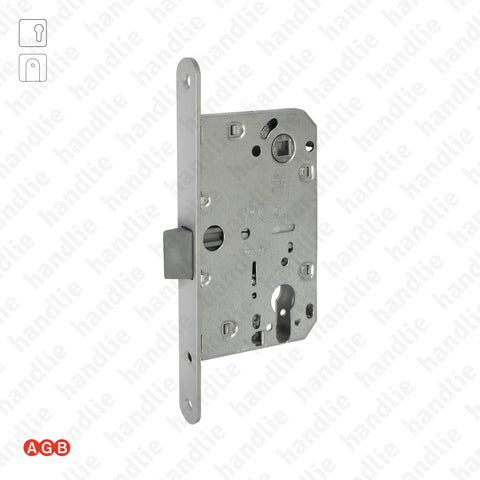 F.110.1.03.R - Mediana Evolution - Mortise lock for euro cylinder