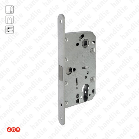 F.110.91.03 - Mediana Polaris - Magnetic mortise lock for Euro Cylinder