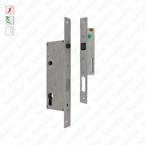 F.1360 Twin Lock Kit - Automatic panic lock + Electric strike