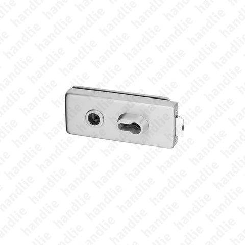 F.340V.1.03 - Lock for glass door - for Turning / Turning handles