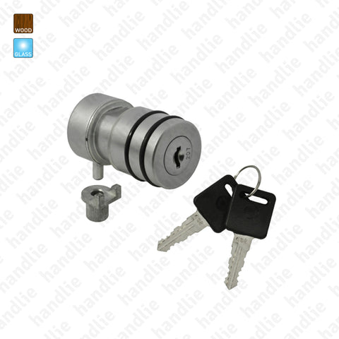 F.4000 - Lock with removable cylinder for cabinet doors