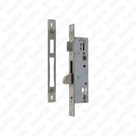 F.4210BEP355 - Mortise lock for cylinder / metal frame - STAINLESS STEEL