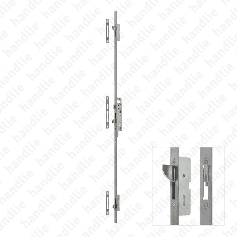 F.4230.PEP - Multipoint high security lock for aluminium doors