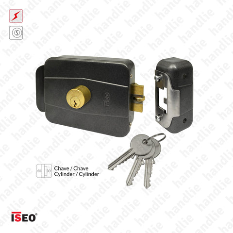 F.500.600 - Electric rim lock Key / Key