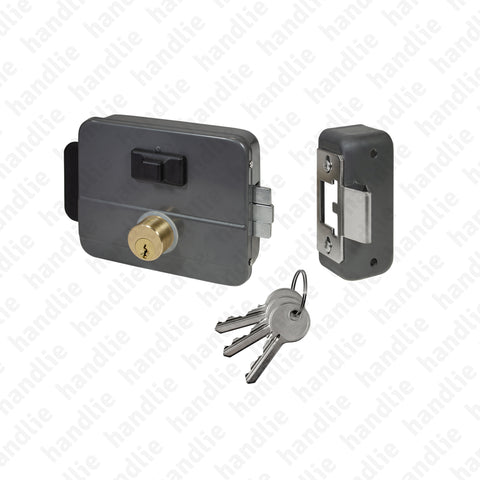 F.5015.D96 - Electric rim lock key / key + button