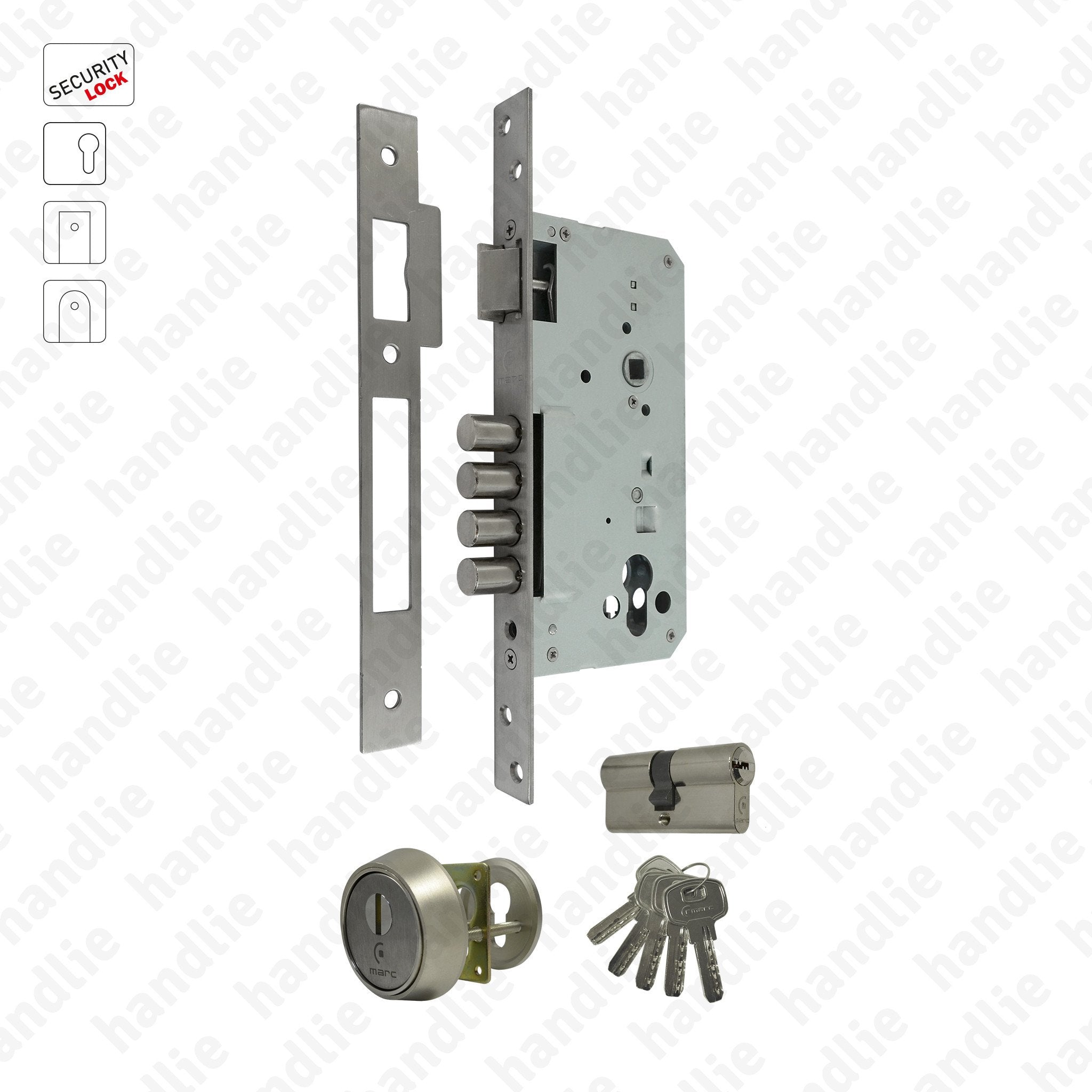 cylinder high security euro escutcheons complete with fixings brand new fast XXX