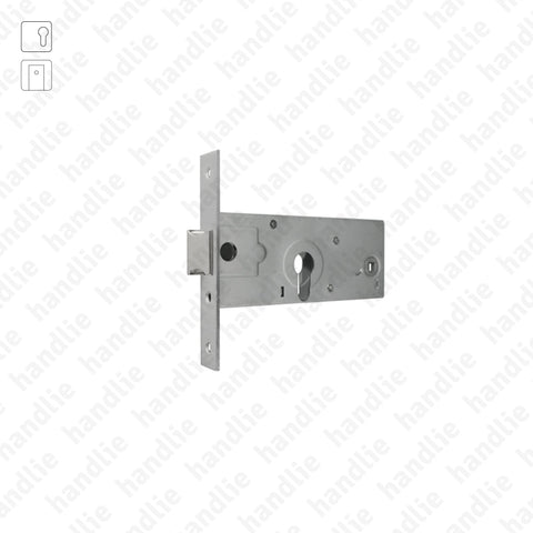 F.727.1.03 - Mortise lock for euro cylinder
