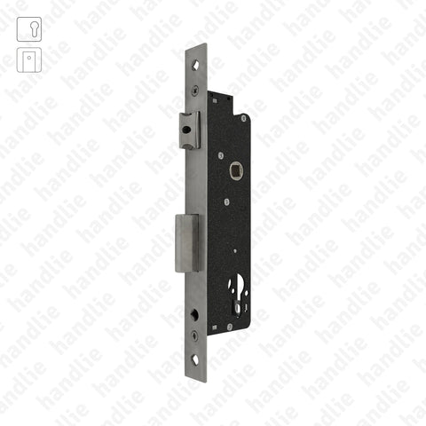 F.779.1.03 - Mortise lock for euro cylinder - Stainless steel