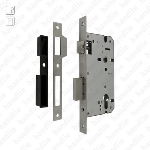 IN.20.792 - Mortise lock for euro cylinder - Stainless Steel