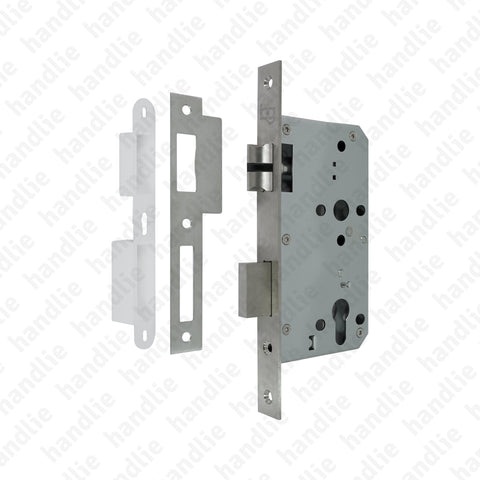 F.880.1.03 - Mortise lock Euro Cylinder - Stainless Steel