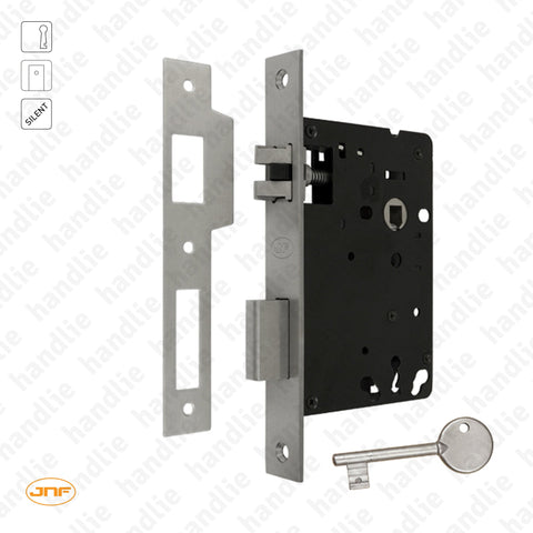 IN.20.916 - Mortise lock with key - Stainless Steel