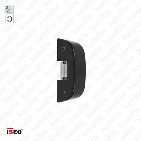 Strike 5680.000 - Rim electric strike for panic bars - Black - ISEO/ IDEA Base and Push
