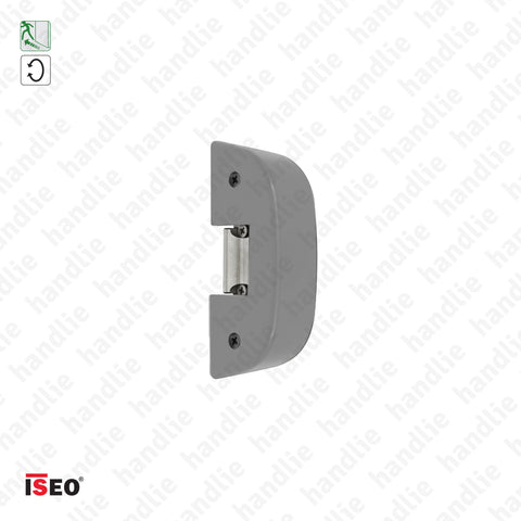 Strike 5680.007 - Rim electric strike for panic bars - Grey - ISEO/ IDEA Base and Push