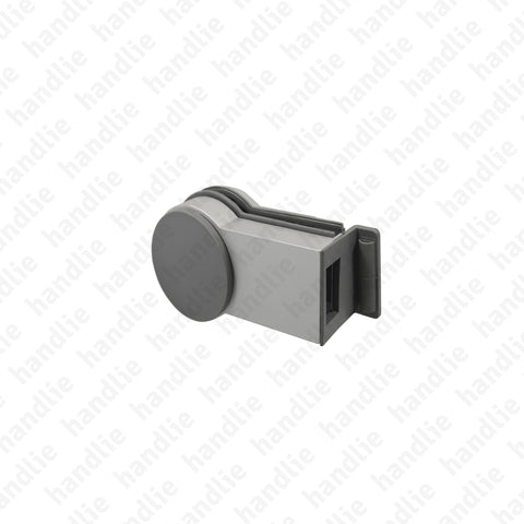 F.CX.GL1 - Latch strike box for glass doors (2nd leaf) - Premi apri Forma Series