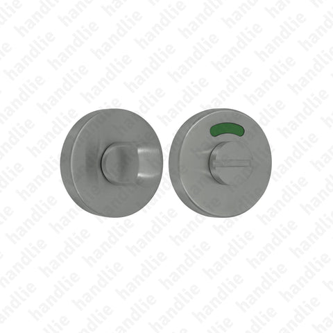 FX.IN.8234 - WC turn and release with indicator - Stainless Steel