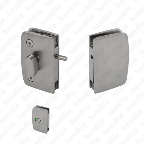 FXV.8253 -  Latch for bathroom glass doors