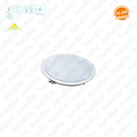 IL.100 - LED Downlight / 12V - Recess mounted