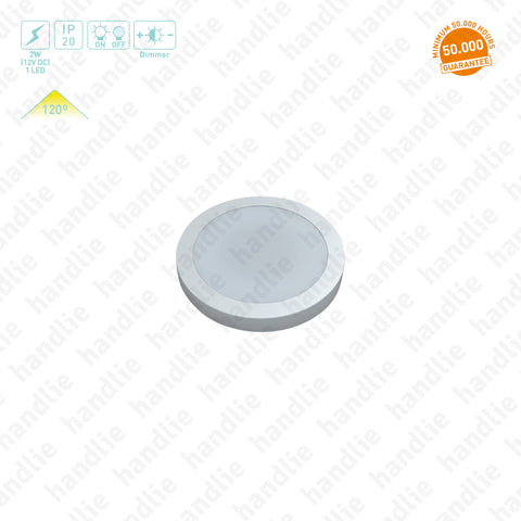 IL.101 - LED Downlight / 12V - Surface mounted