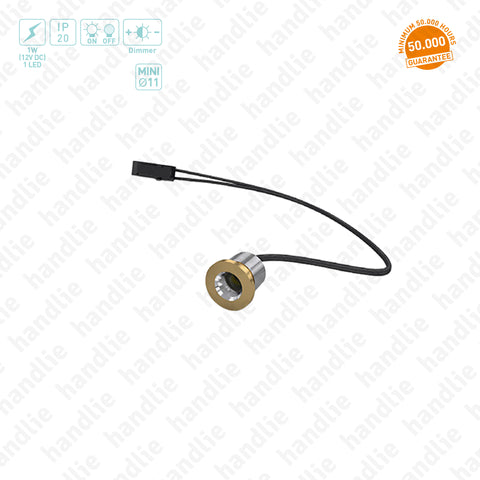 IL.103 - Mini LED Downlight / 12V - Recess mounted