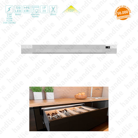 IL.351 - Profile with LED for drawers