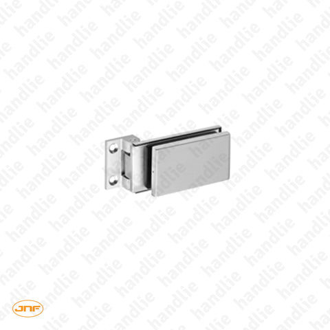 IN.05.302 - Wall to Glass Hinge - Stainless Steel