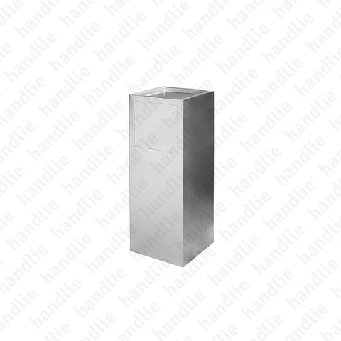 IN.25.453 - Ashtray and bin - Stainless Steel