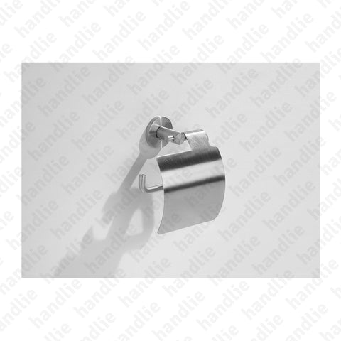 IN.40.139 FINE Series - Toilet roll holder with cover - Stainless Steel
