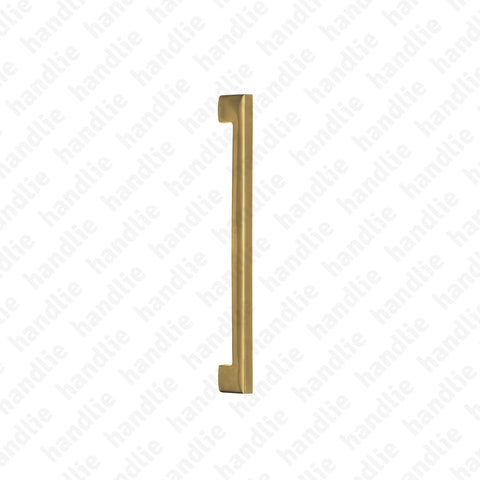 IN.07.002.D METRIC - TITANIUM - Pull handle for door - Stainless Steel