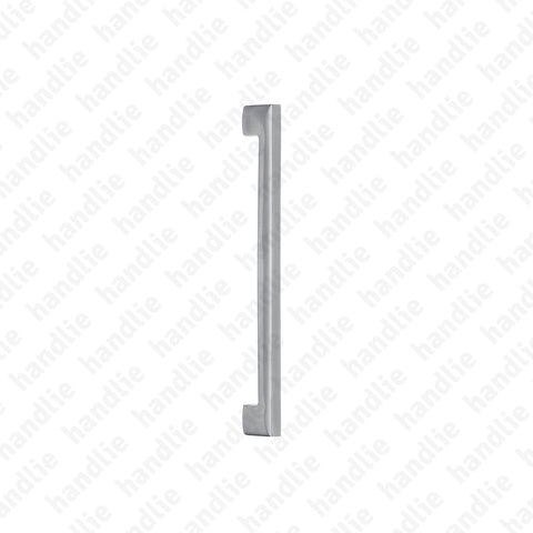 IN.07.002.D METRIC - Pull handle for door - Stainless Steel