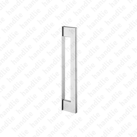 IN.07.432 SLIM - Pull handle for door - Stainless Steel