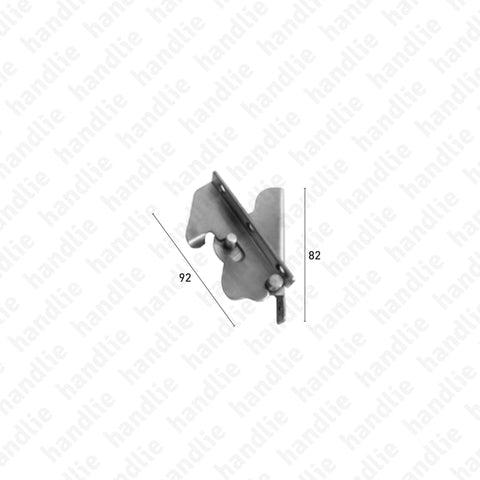 JN.2.CP - Window hinge kits for tilt only windows - Surface mounted