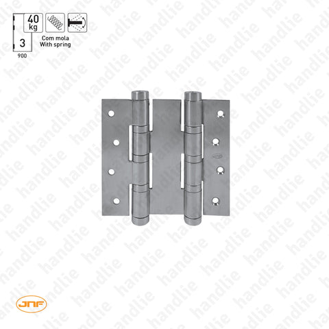 IN.05.645 - Double action spring hinge 120 mm - Stainless Steel