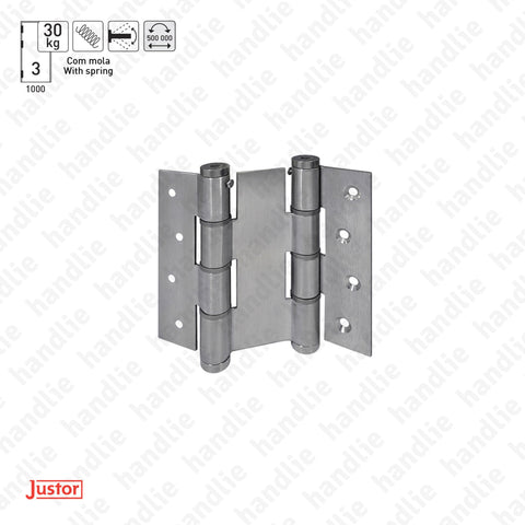 DM.5414J Double action - Double action spring hinge - Stainless Steel