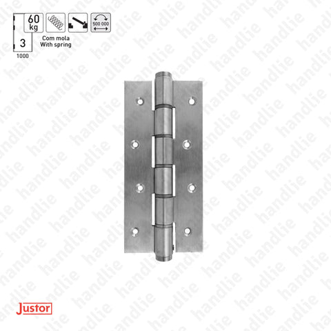 DM.5814J Spring - Single action spring hinge 180mm - Stainless Steel