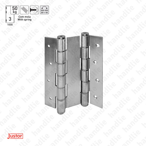 DM.5914J Double action - Double action spring hinge - Stainless Steel