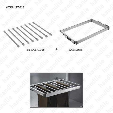 KIT EA.177.016 - Rod kit for trousers - SC SQUARE CLOSET