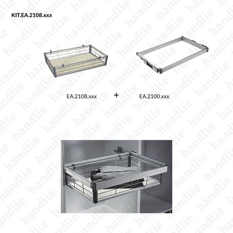 KIT EA.2108 - Basket Kit for Closet - SC SQUARE CLOSET