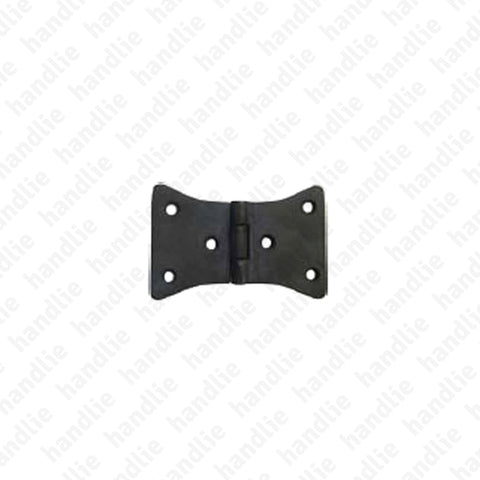 LM.218.DP - Butterfly hinge for shutters - Brass