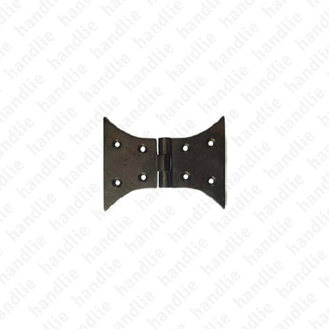 LM.218.D - Butterfly hinge for shutters - Brass