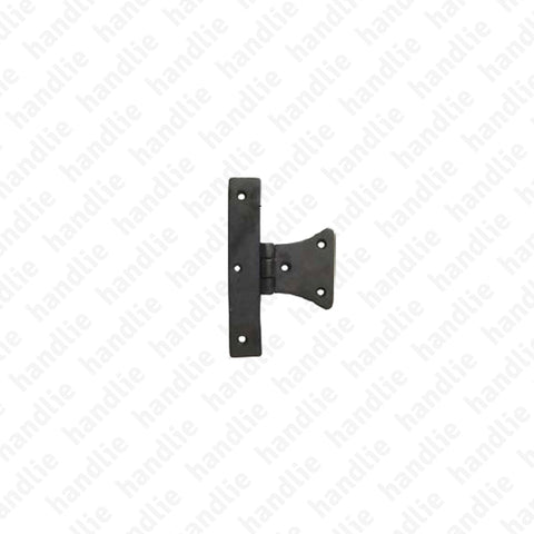 LM.218.P - Half butterfly hinge for shutters - Brass