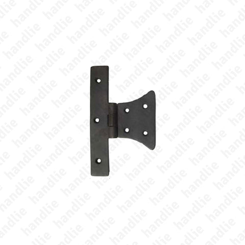 LM.218 - Half butterfly hinge for shutters - Brass