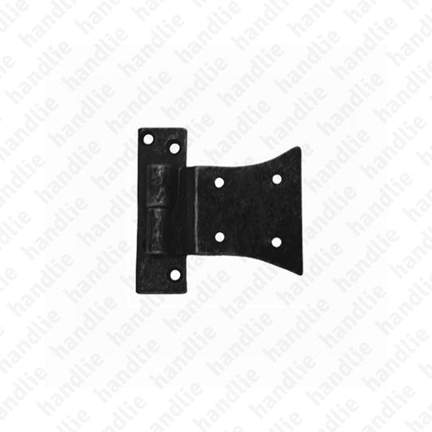 LM.515 - Half butterfly hinge for shutters - Brass