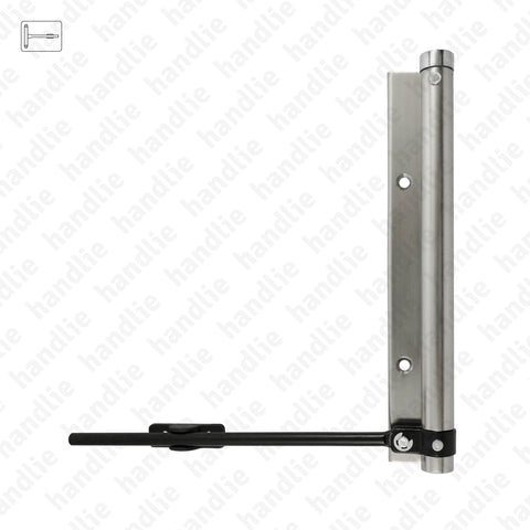 M.5613 - Spring arm door closer - Aluminium